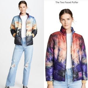 ⭐2X HOST PICK⭐ MOTHER Two Faced Puffer Mystical Clairvoyant Reversible Jacket